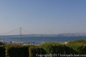 四国周遊観光の旅:明石海峡大橋