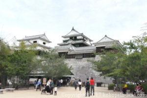 四国周遊観光の旅、松山城