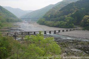 四万十川の半家沈下橋