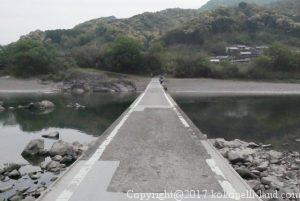 四万十川の長生沈下橋