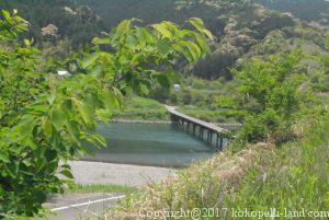 四万十川の三里沈下橋