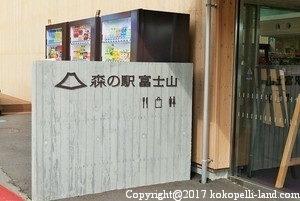 森の駅富士山