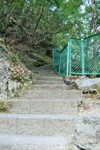 夢の吊橋上り階段