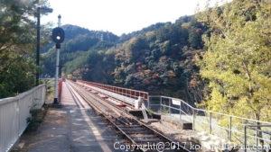 奥大井湖上駅1
