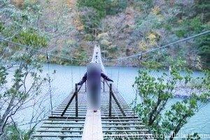 夢の吊橋を渡る