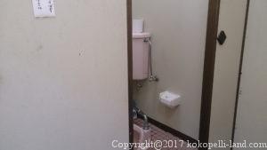 接阻峡温泉駅トイレ
