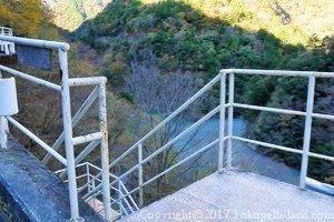 夢の吊橋下り階段