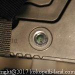 車中泊用サブバッテリーの充電確認・インジケーターの見方
