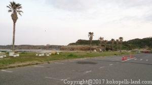 銚子マリーナ海水浴場駐車場