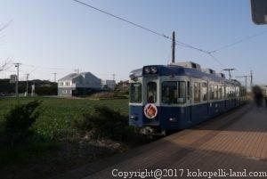 犬吠埼駅電車