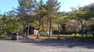 04280714キャンプ場駐車場