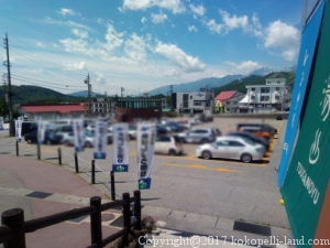 栂池駐車場