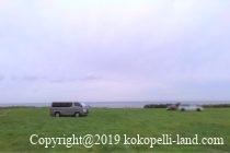 ウスタイベ岬キャンプ場