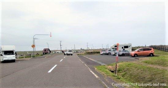 湯沸岬灯台 駐車場