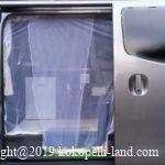 車スライドドアのバグネット(網戸)自作!簡単作成&安い材料で防虫対策