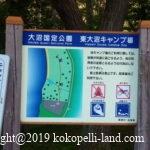 北海道車中泊スポット|東大沼キャンプ場(東大沼野営場)