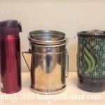 ミニバン・ワンボックスで車中泊!お湯を沸かす&コーヒーを淹れる方法