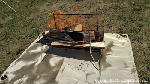 okyoCamp 焚き火台